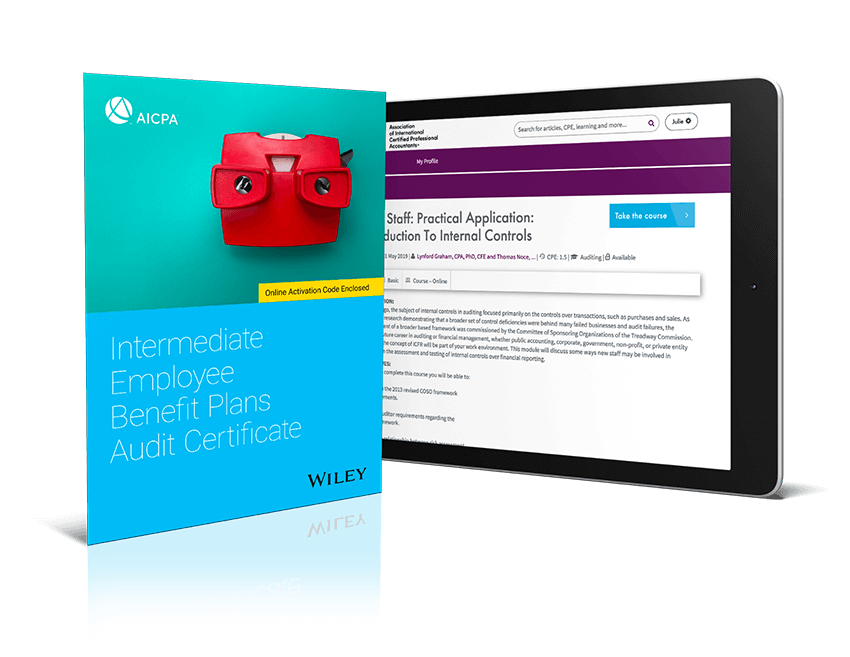 Intermediate Employee Benefit Plans Audit Certificate