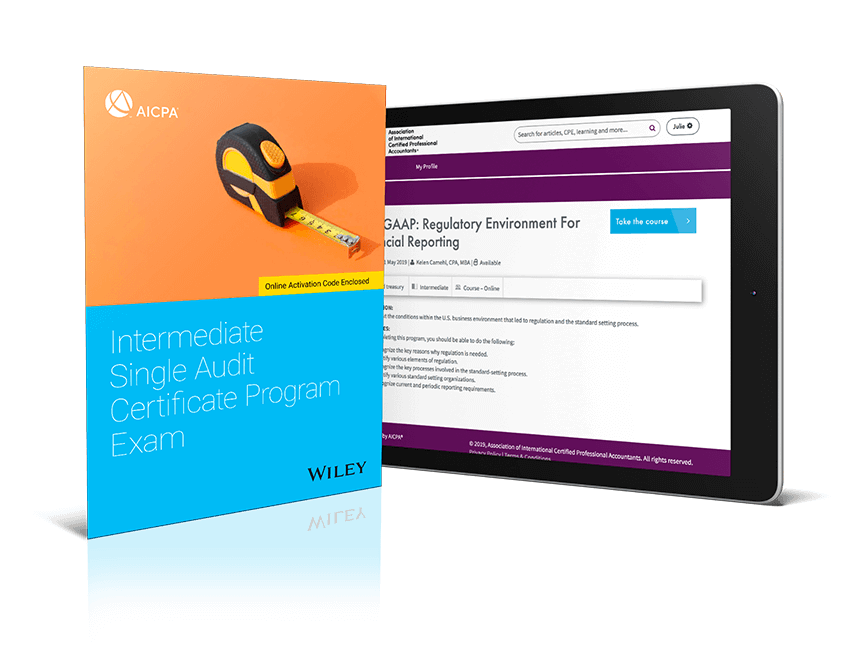 Intermediate Single Audit Certificate Program Exam