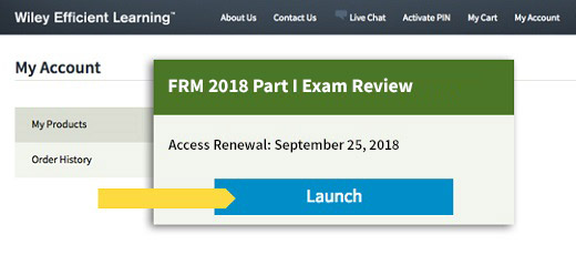 Access the Review Course or Test Bank