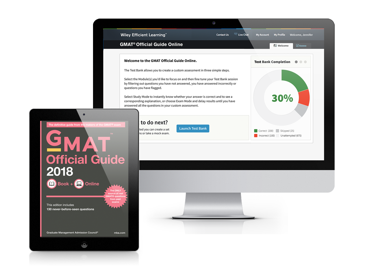 GMAT® Official Guide 2018: eBook + Online