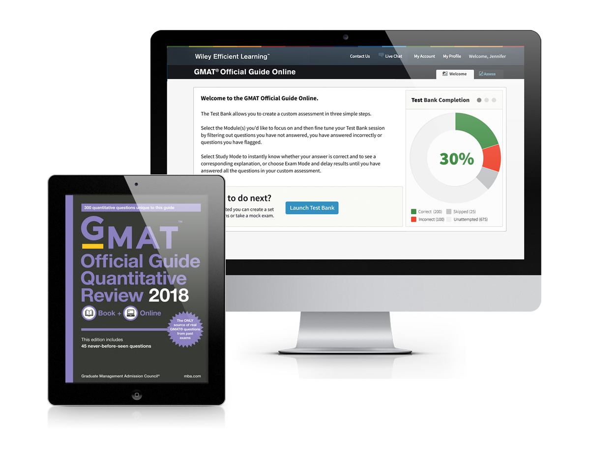 GMAT® Official Guide Quantitative Review 2018: eBook + Online