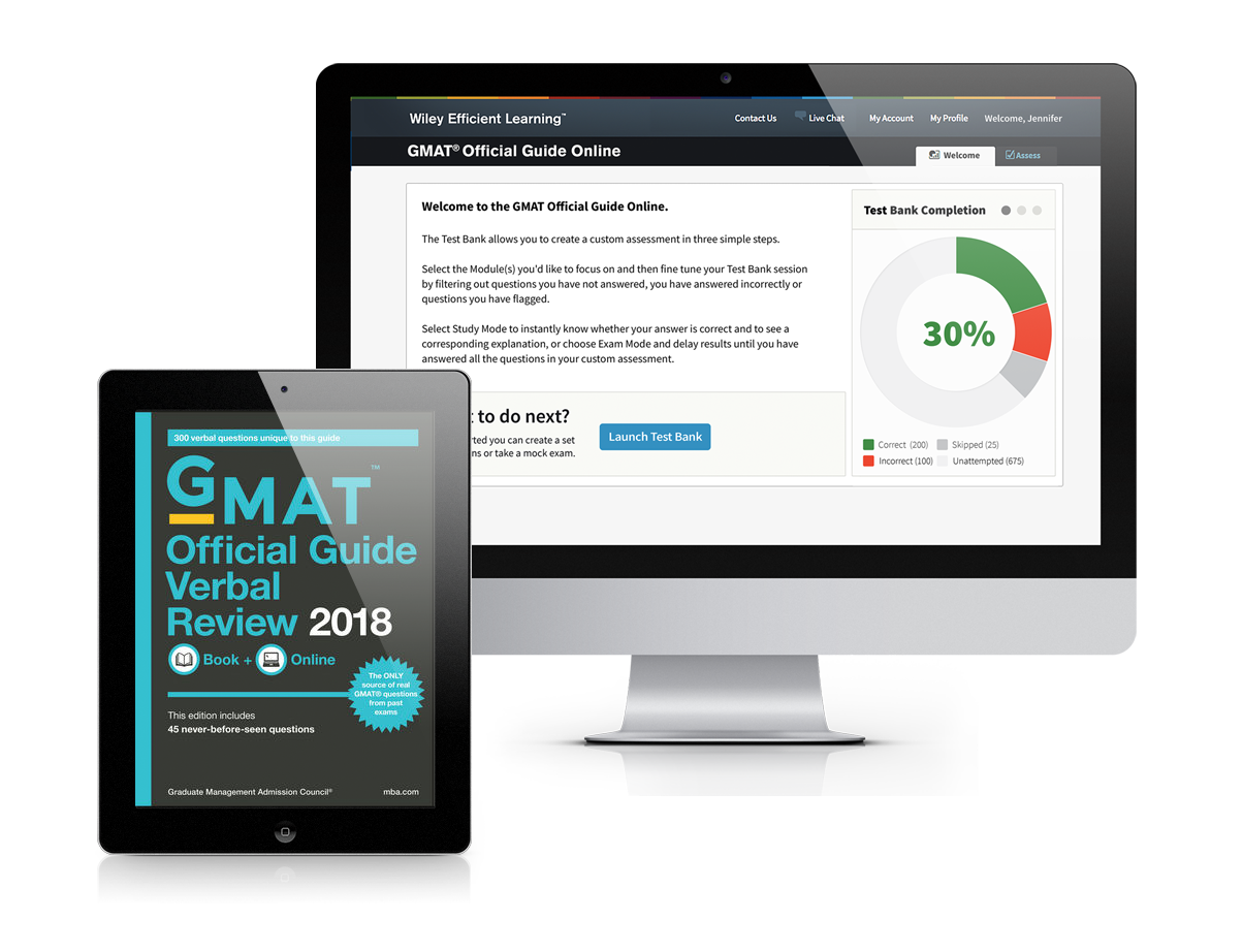 GMAT® Official Guide Verbal Review 2018: eBook + Online