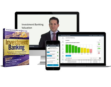 Take advantage of free instructor resources and teaching materials that accompany the best-selling book Investment Banking, by Joshua Rosenbaum and Joshua Pearl