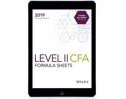 🌷 Cfa level 2 formula sheet 2018 download | What is a possible free