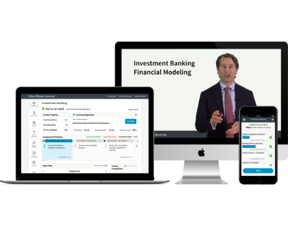 Gain a deeper understanding of financial modeling concepts and tools with Wiley Investment Banking Financial Modeling Course