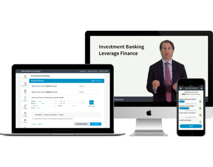 Gain a deeper understanding of buyout deal structures with Wiley's investment banking leveraged finance course