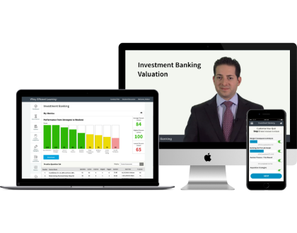 Gain a deeper understanding of current valuation models with Wiley Investment Banking Valuation Course
