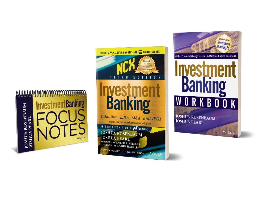 Investment Banking Information Set: Book Workbook and Focus Notes