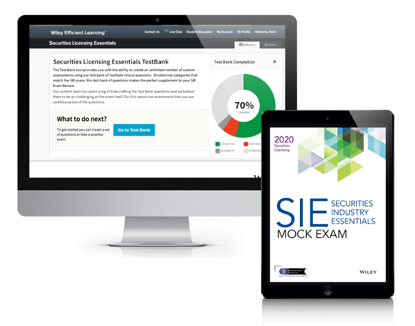 Securities Industry Essentials (SIE) Test Bank + Mock Exams 2020