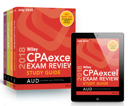 Cpa study guide wiley cpaexcel cpa study guide book ebook 2018 90x90g fandeluxe Choice Image