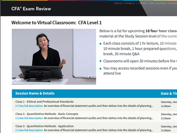 Level 1 of the CFA® Exam – A Three Month Study Plan ...