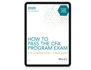 Free Ebook: How to Pass the CFA Exam - The Ultimate Cheat Sheet